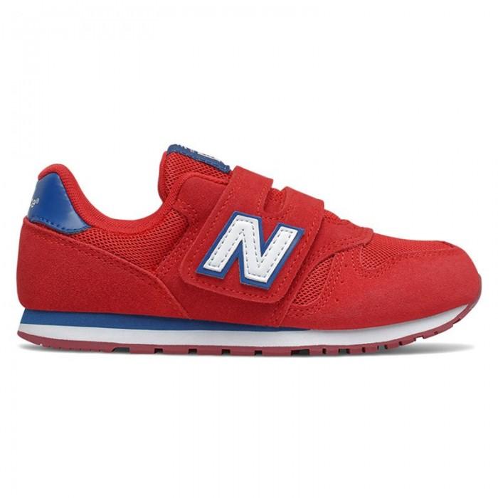[해외]뉴발란스 373 Junior Wide Trainers 15137929556 Red