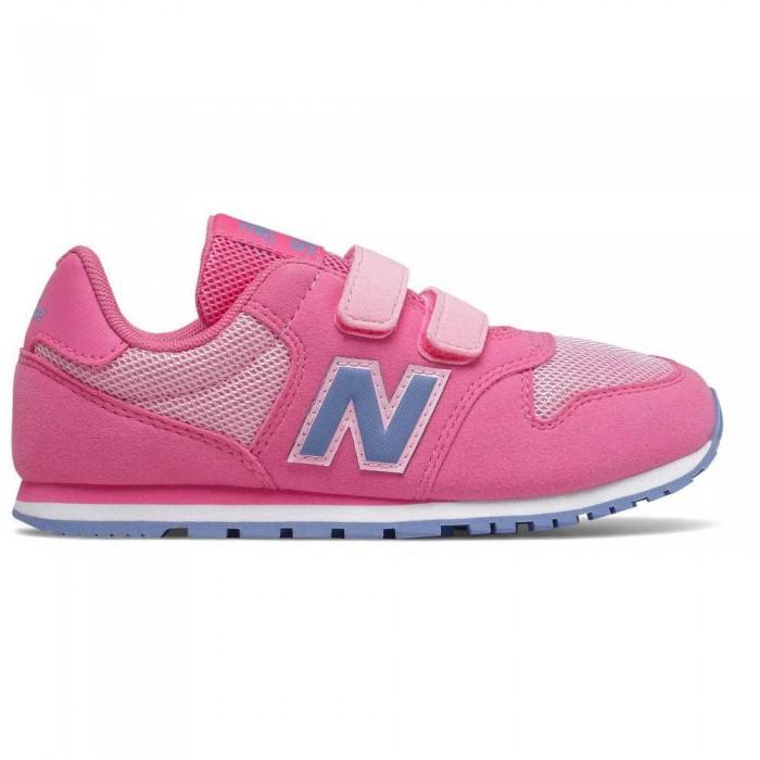 [해외]뉴발란스 500 Junior Wide Trainers 15137929567 Pink / Purple