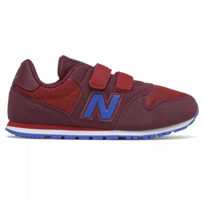 [해외]뉴발란스 500 Junior Wide Trainers 15137929568 Burgundy
