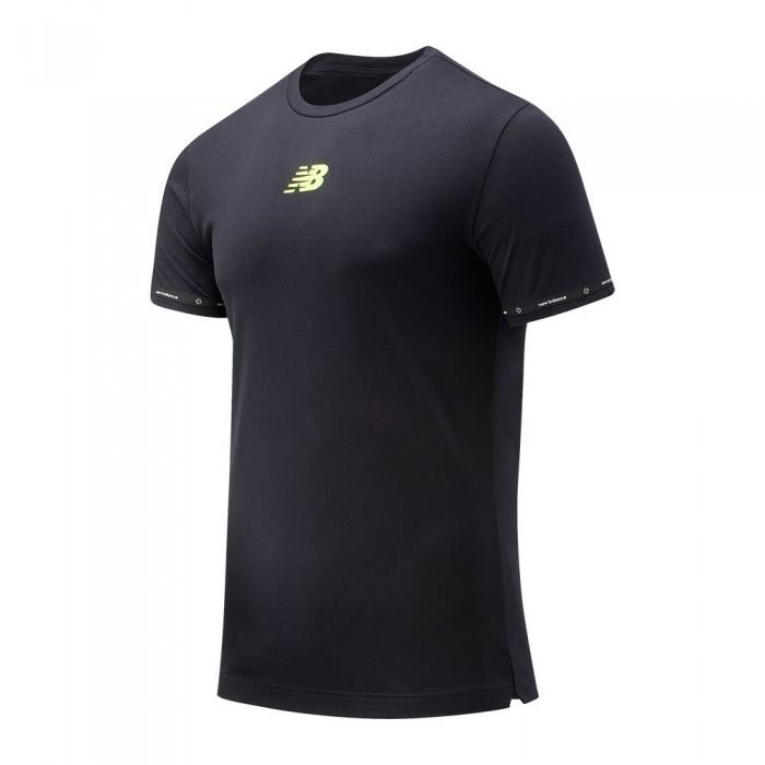[해외]뉴발란스 Graft Short Sleeve T-Shirt 15137615725 Black