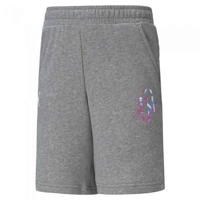 [해외]푸마 Neymar Jr Creativity Short Pants 15137921027 Medium Gray Heather