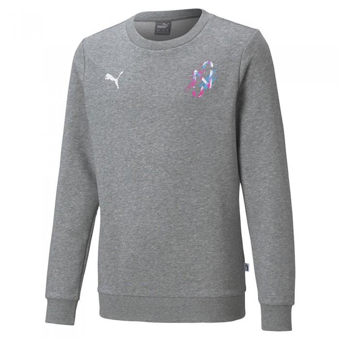 [해외]푸마 Neymar Jr Creativity Crew Sweatshirt 15137921031 Medium Gray Heather