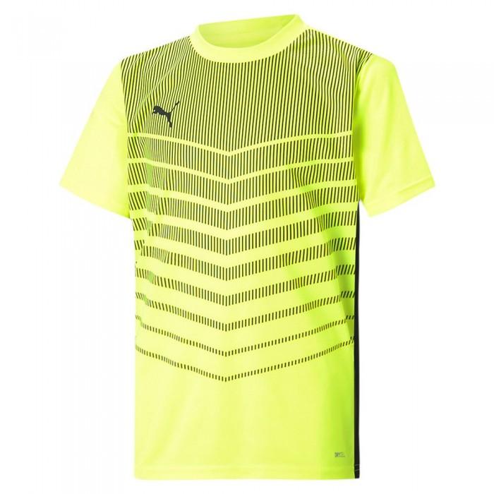 [해외]푸마 ftblPLAY Graphic Short Sleeve T-Shirt 15137921038 Yellow Alert / Puma Black