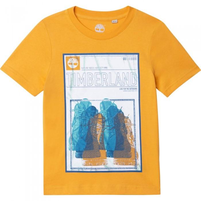 [해외]팀버랜드 T-Shirt Short Sleeve T-Shirt 15138003124 Yellow