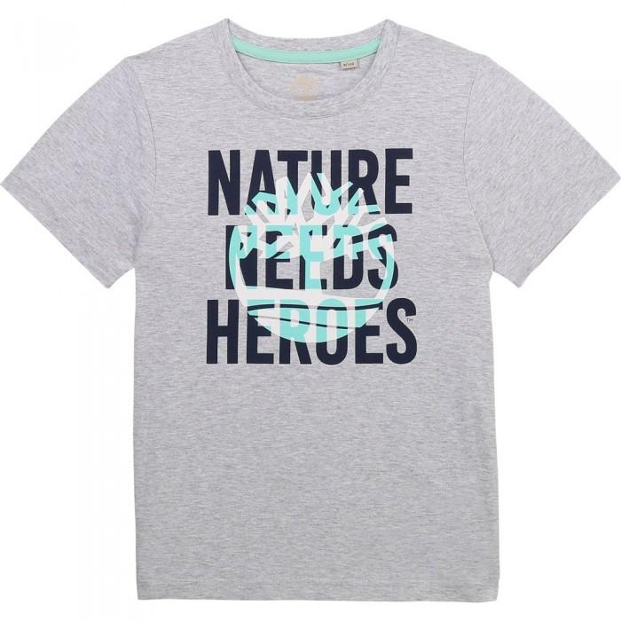 [해외]팀버랜드 T-Shirt Short Sleeve T-Shirt 15138003125 Grey