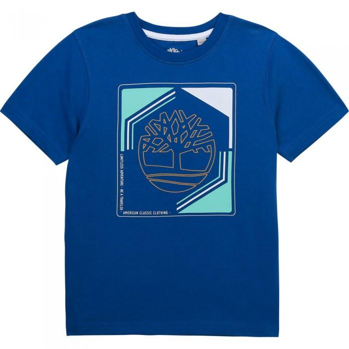 [해외]팀버랜드 T-Shirt Short Sleeve T-Shirt 15138003138 Blue