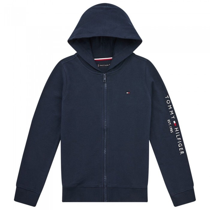 [해외]타미힐피거 KIDS Essential Logo Full Zip Sweatshirt 15138054589 Twilight Navy