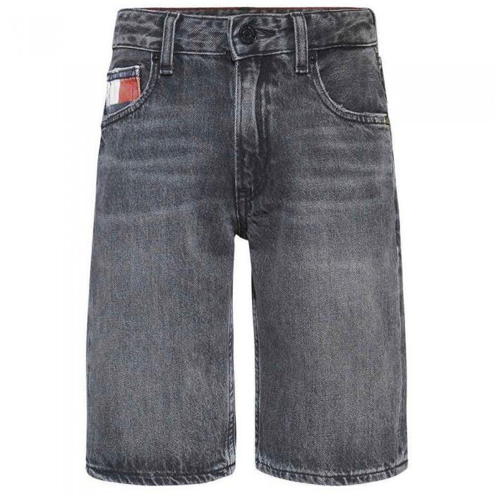 [해외]타미힐피거 KIDS Modern Straight Denim Shorts 15138054607 Wblkopenriporc