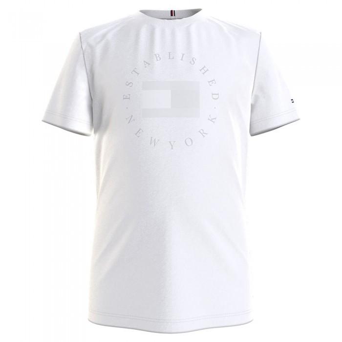 [해외]타미힐피거 KIDS Heritage Logo Short Sleeve T-Shirt 15138054638 White