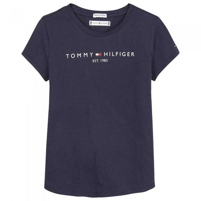 [해외]타미힐피거 KIDS Essential Short Sleeve T-Shirt 15138054692 Twilight Navy
