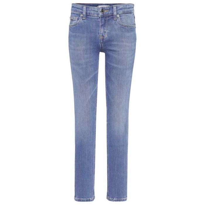 [해외]타미힐피거 KIDS Nora Skinny Jeans 15138054696 Summermedbluestretch