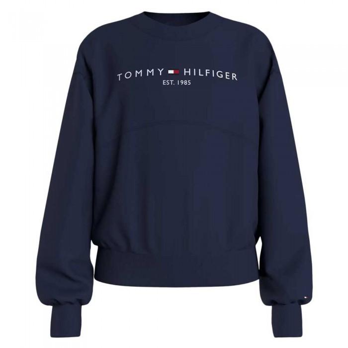 [해외]타미힐피거 KIDS Essential Terry Sweatshirt 15138054710 Twilight Navy