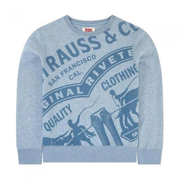 [해외]리바이스 ? KIDS Oversized Sweatshirt 15138012379 Blue