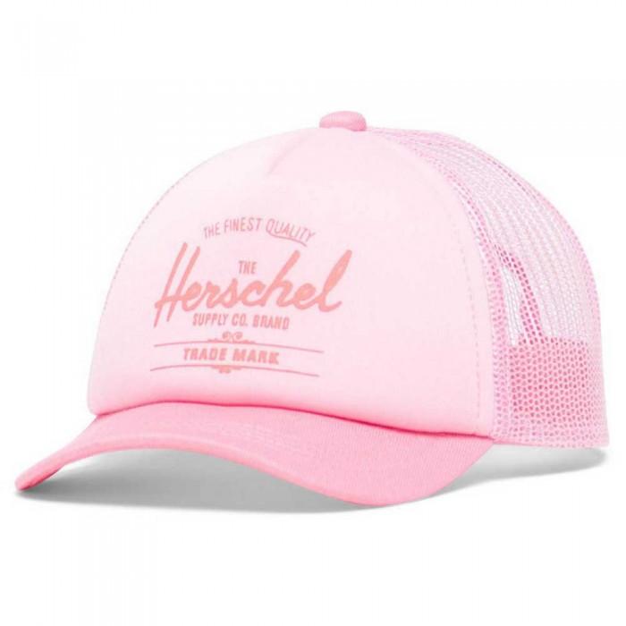 [해외]허쉘 Whaler Mesh Baby 15138024193 Peony / Neon Pink