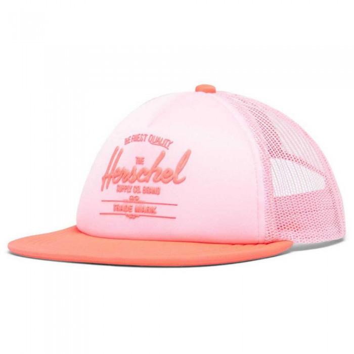 [해외]허쉘 Whaler Mesh Soft Brim Youth 15138024199 Peony / Neon Pink
