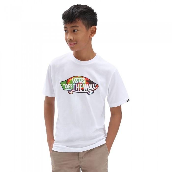 [해외]반스 Otw Logo Fill Short Sleeve T-Shirt 15138122038 White / Spiral Tie Dye