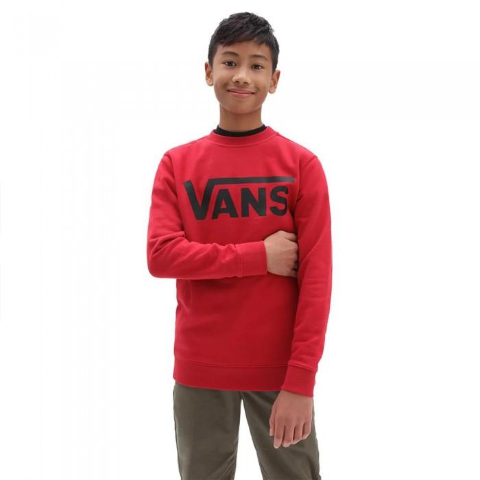 [해외]반스 Classic Crew Sweatshirt 15138122095 Chili Pepper