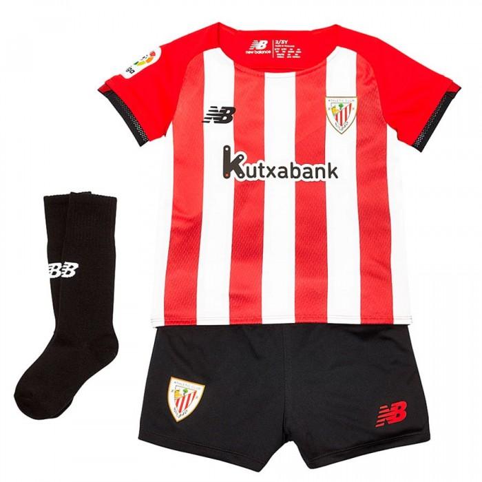 [해외]뉴발란스 Athletic Club Bilbao 21/22 Home Infant Set 3138121805 Red / White