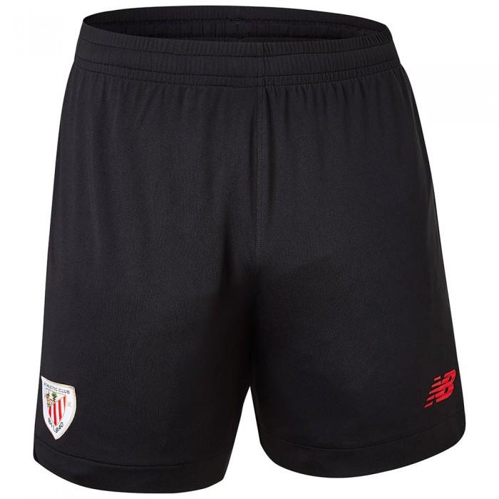 [해외]뉴발란스 Athletic Club Bilbao 21/22 Home Shorts 3138121829 Black