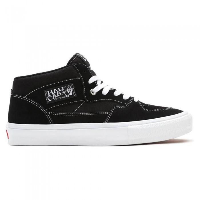 [해외]반스 Skate Half Cab Trainers 14138122181 Black / White