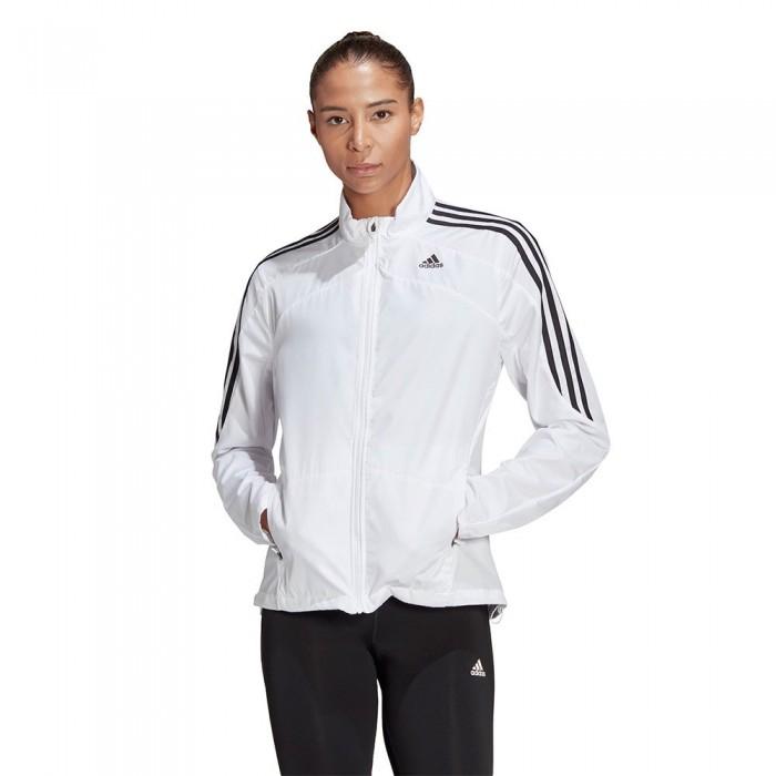 [해외]아디다스 Marathon 3-Stripes Jacket 6137926199 White