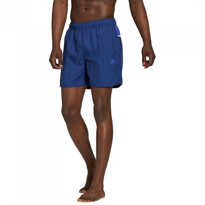 [해외]아디다스 Bos 3 Stripes CLX Beach Swimwear 6138108747 Victory Blue / Sonic Ink
