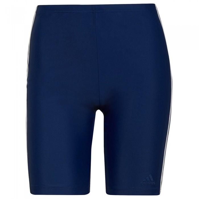 [해외]아디다스 Fit 3 Stripes Jammer Swimsuit 6138108838 Victory Blue / White