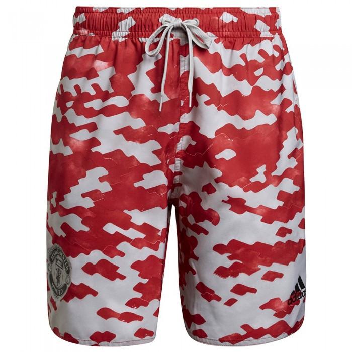 [해외]아디다스 Manchester United CLX CL Beach Swimwear 6138109108 Power Red / Real Red / Stone