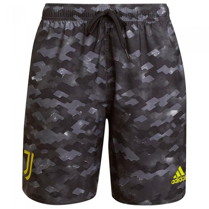 [해외]아디다스 Juventus CLX CL Beach Swimwear 6138109109 Grey Four / Carbon / Black