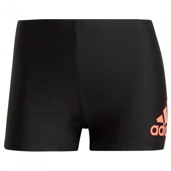 [해외]아디다스 Fit Bos Swim Boxer 6138110116 Black / App Solar Red