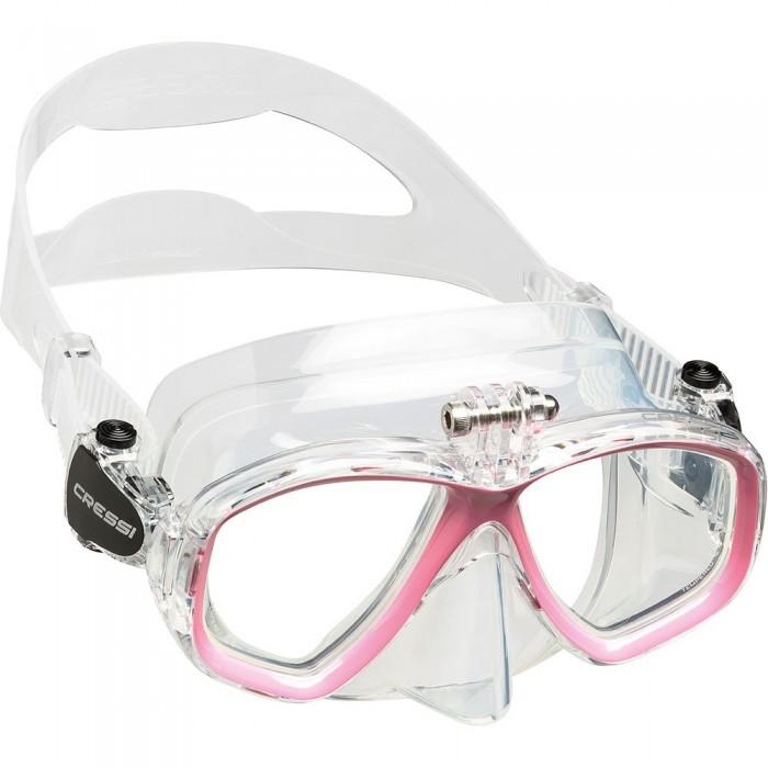 [해외]크레시 Action Diving Mask 10138128088 Clear / Pink