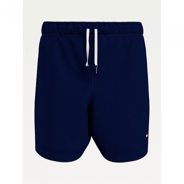 [해외]타미힐피거 언더웨어 Drawstring Regular Fit Mid Length Swimming Shorts 15138136065 Desert Sky