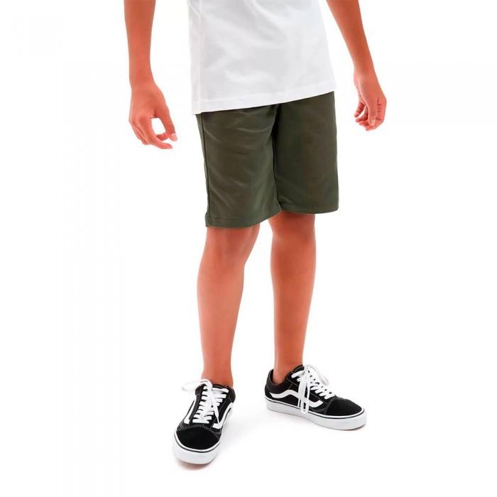 [해외]반스 Authentic Stretch Shorts 15136369976 Grape Leaf