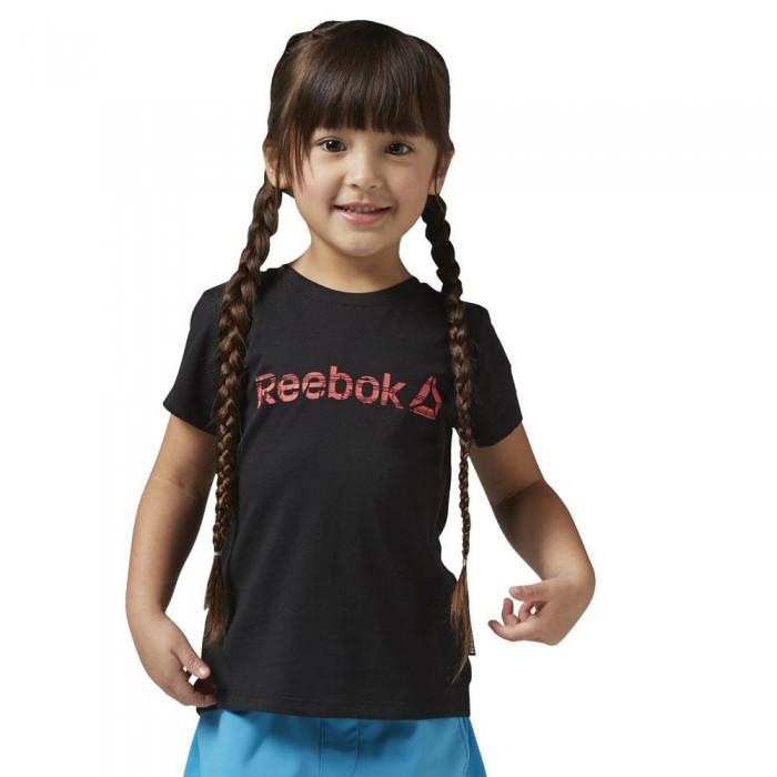 [해외]리복 Essentials Basic Short Sleeve T-Shirt 15136418232 Black