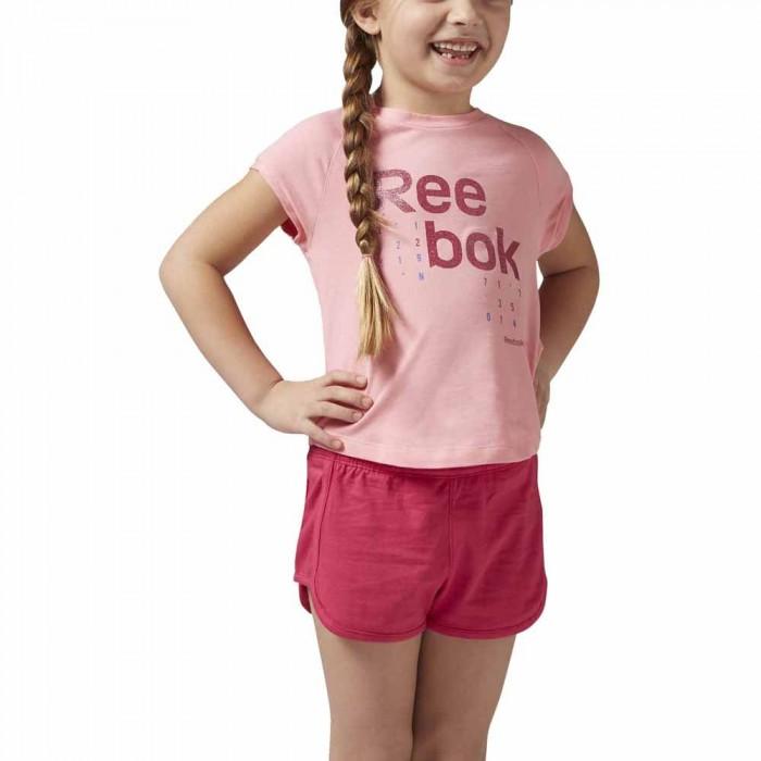[해외]리복 Essentials Logo 15136418253 Peppy Pink