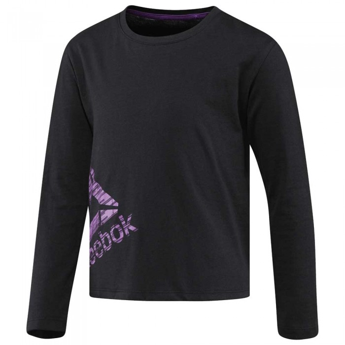 [해외]리복 Essentials Long Sleeve T-Shirt 15136586875 Black