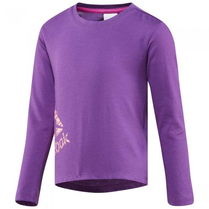 [해외]리복 Girls Essentials Long Sleeve T-Shirt 15136586877 Aubergine F17-R