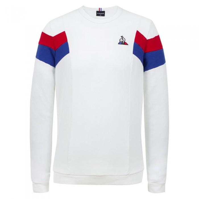 [해외]르꼬끄 Tri Crew Nº1 Sweatshirt 15137624376 New Optical White
