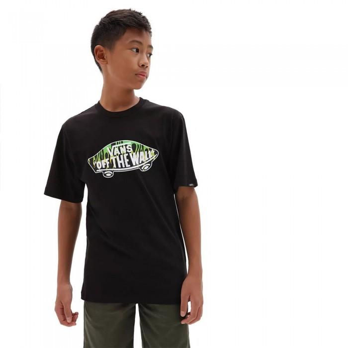 [해외]반스 OTW Logo Fill Short Sleeve T-Shirt 15137881748 Black / Slime