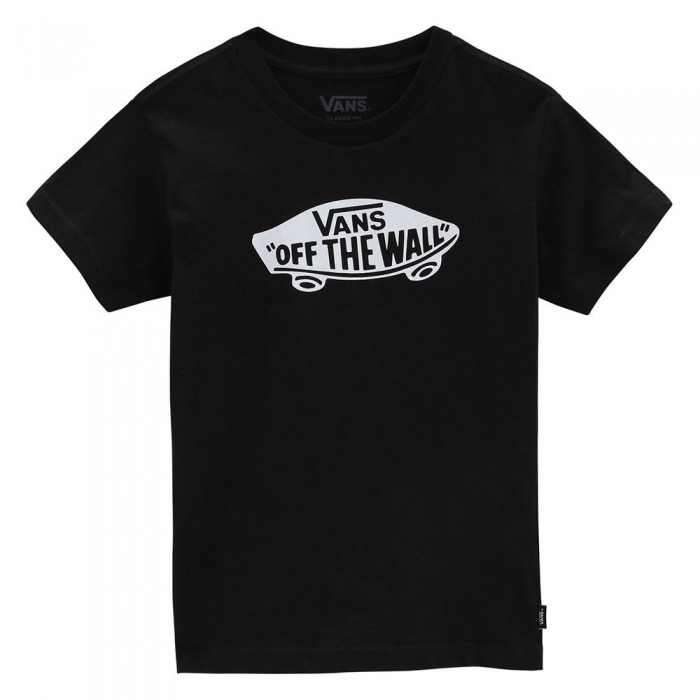 [해외]반스 Off The Wall Short Sleeve T-Shirt Kids 15138122113 Black / White