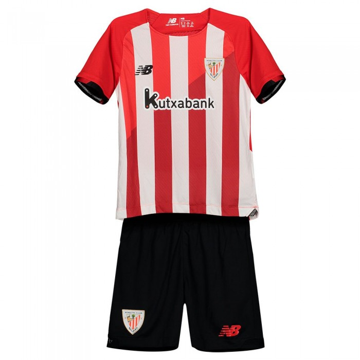 [해외]뉴발란스 Athletic Club Bilbao 21/22 Home Junior Set 3138121816 Red / White