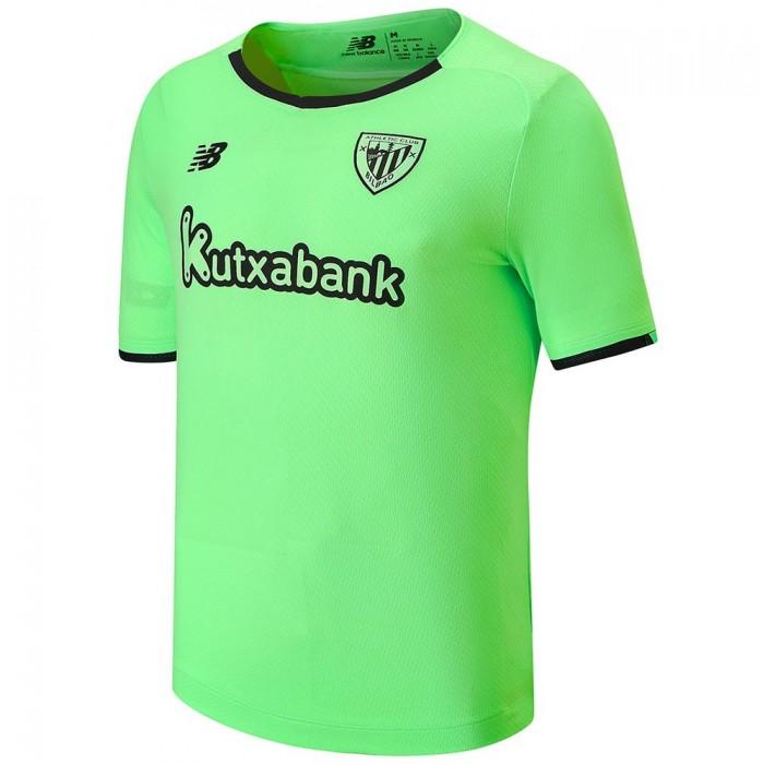 [해외]뉴발란스 Athletic Club Bilbao 21/22 Away Short Sleeve T-Shirt 3138121835 Green