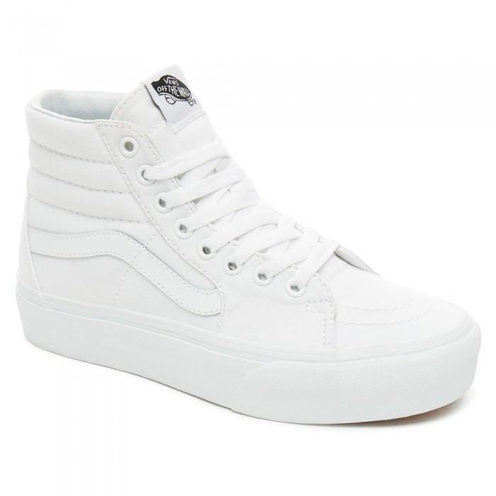 [해외]반스 SK8-Hi Platform 2.0 Refurbished Trainers 14138140851 True White / True White