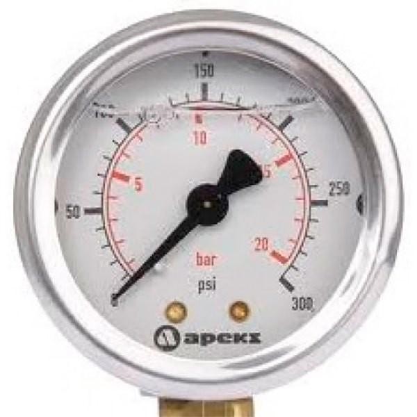 [해외]아쿠아렁 Pressure Gauge MP 0/15 BAR Conect DS 10137871793