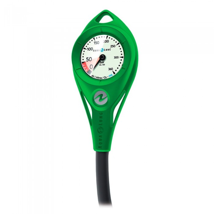 [해외]아쿠아렁 Metal Al 50 300 Bar Nitrox/Oxygene Hose Pressure Gauge 10137871837 Short