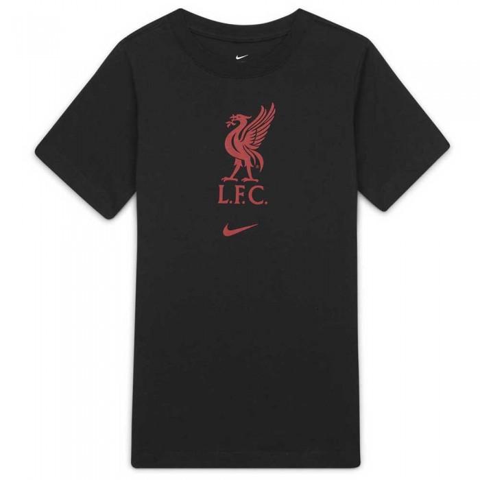 [해외]나이키 Liverpool FC 21/22 Junior 15138029431 Black / Gym Red