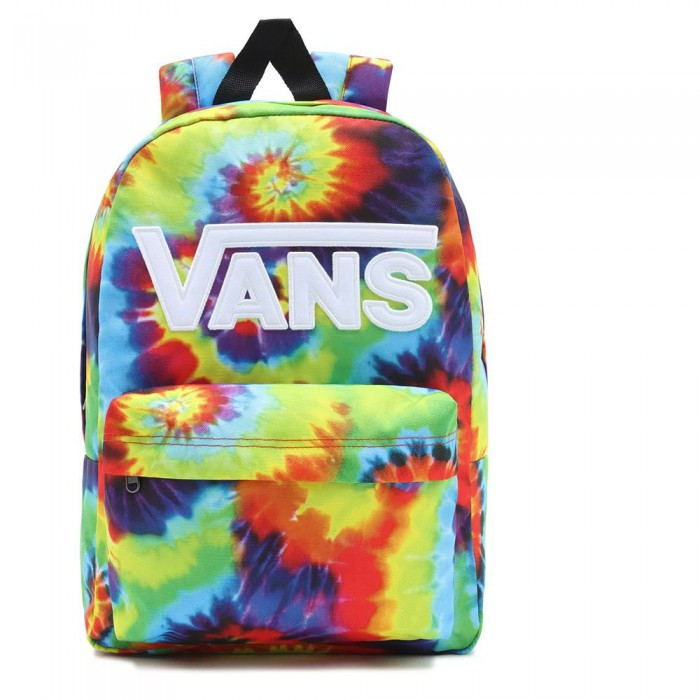 [해외]반스 New 스쿨 Backpack Kids 15138122041 Spiral Tie Dye