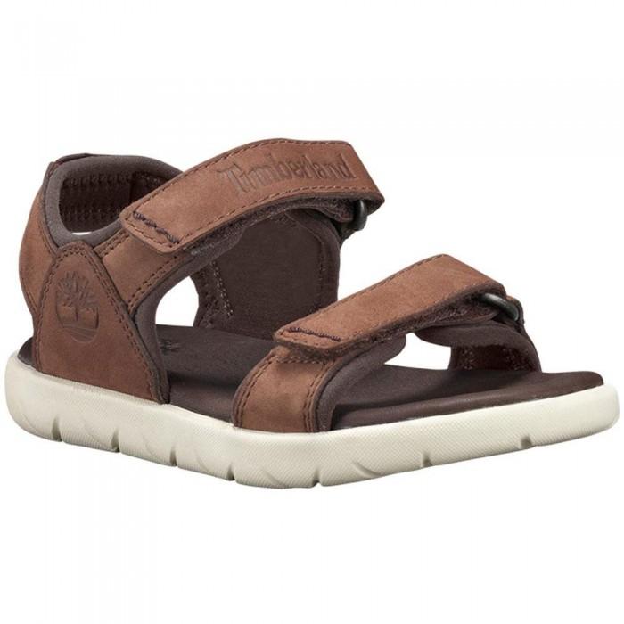 [해외]팀버랜드 Nubble Leather 2 Toddler Sandals 15136745876 Cappuccino