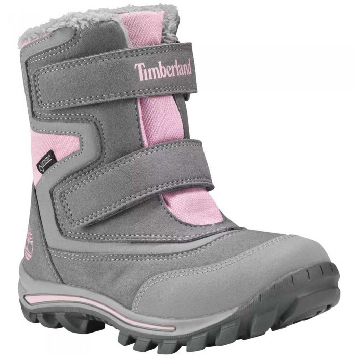 [해외]팀버랜드 Chillberg 2 Strap Goretex Toddler Boots 15137158827 Steeple Grey
