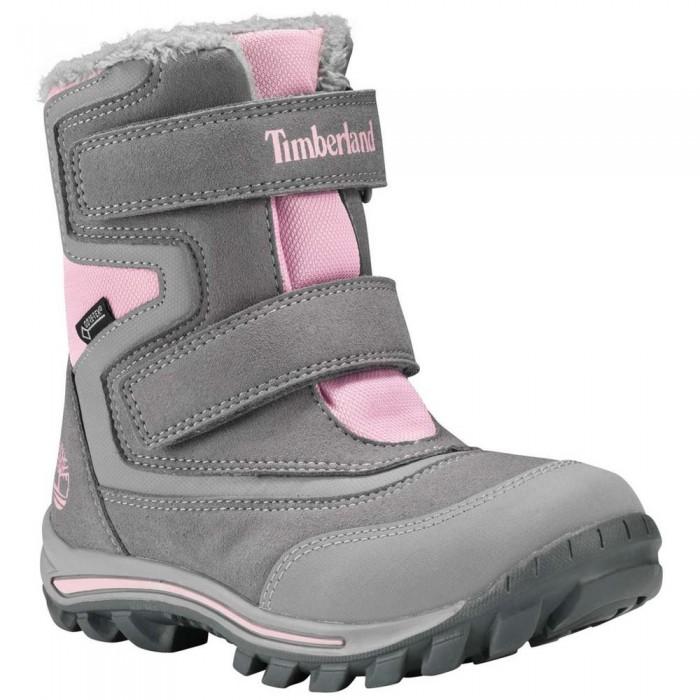 [해외]팀버랜드 Chillberg 2 Strap Goretex Youth Boots 15137158828 Steeple Grey